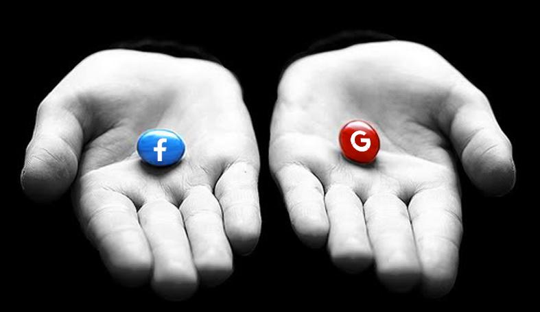 Facebook o Google
